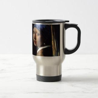 The Girl With The Pearl Earring Coffee Mug
