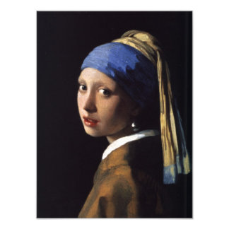 The Girl With The Pearl Earring Photo Print