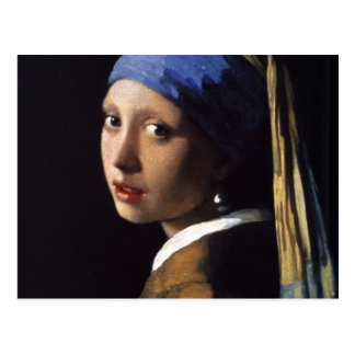 The Girl With The Pearl Earring Post Cards