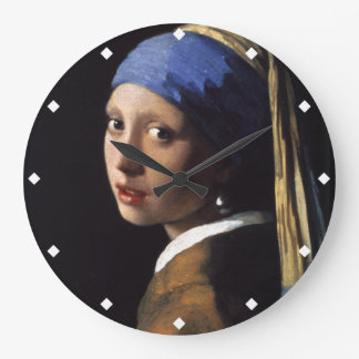 The Girl With The Pearl Earring Wallclock