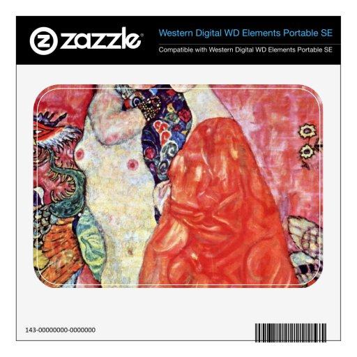 The girlfriends by Gustav Klimt WD Elements SE Skin