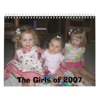The Girls of 2007 Calendars