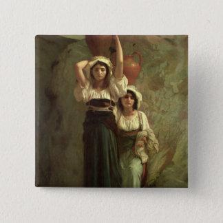 The Girls of Alvito, 1855 Button