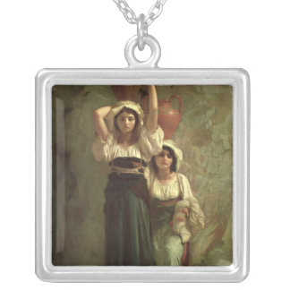 The Girls of Alvito, 1855 Silver Plated Necklace