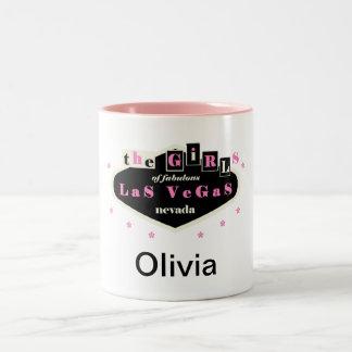 the GiRLs of fabulous LaS VeGaS personalize Mug