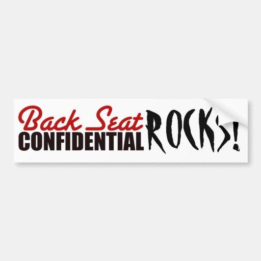 the girls rock! bumper sticker