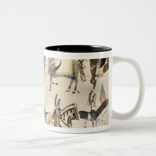 The Give-away celebration (ink on paper) Coffee Mug