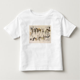 The Give-away celebration (ink on paper) Toddler T-shirt