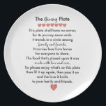 "The Giving Plate<br><div class=""desc"">The Giving Plate is a plate that you can deliver to someone&#39;s house filled with goodies. Have fun baking goodies to share with others on this plate! It is a fun kindness activity to do with your kids. You can even secretly deliver the plate! The sweet thing about this plate...</div>"