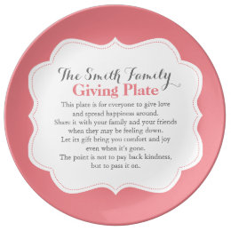 The Giving Plate Pay It Forward Custom Family Name
