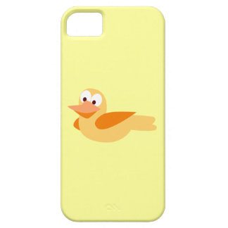The glad and funny duck flying iPhone SE/5/5s case