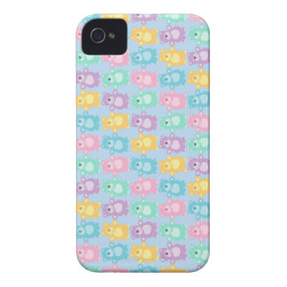 The glad dancing bears of colors Case-Mate iPhone 4 cases