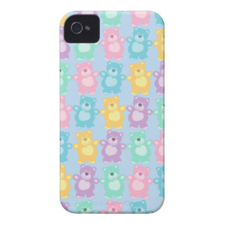 The glad dancing bears of colors iPhone 4 cover