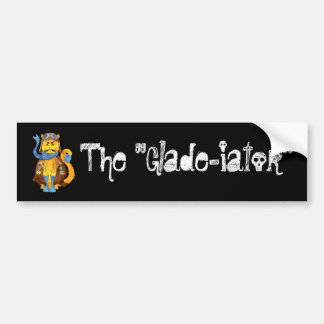 The Glade-iator Bumper Sticker