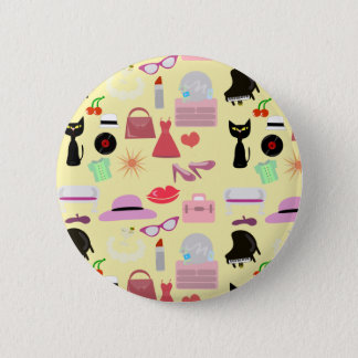 The Glam Life! Pinback Button
