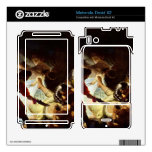 The glare Simsons by Rembrandt Motorola Droid X2 Skins