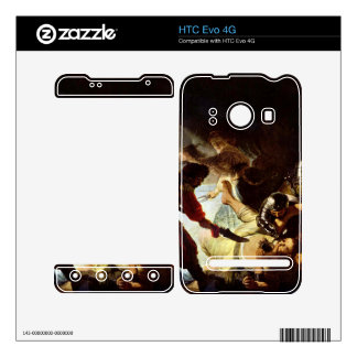 The glare Simsons by Rembrandt Skins For HTC Evo 4G