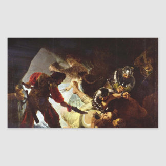 The glare Simsons by Rembrandt Stickers