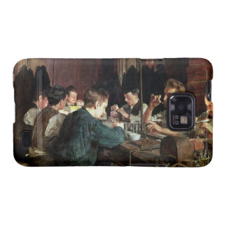 The Glass Blowers, 1883 (oil on canvas) Samsung Galaxy SII Case