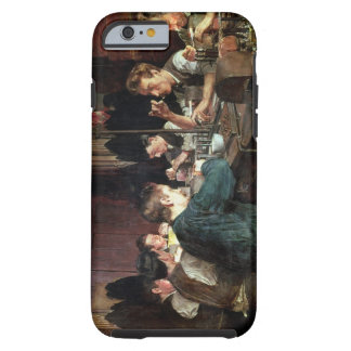 The Glass Blowers, 1883 (oil on canvas) Tough iPhone 6 Case