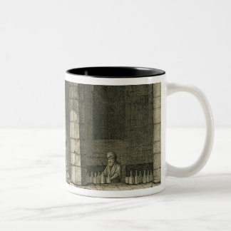 The Glass Bottle Maker, from Volume II Arts and Tr Two-Tone Coffee Mug