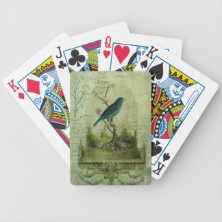 The Glass Cloche Bicycle Playing Cards
