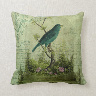 The Glass Cloche Throw Pillow