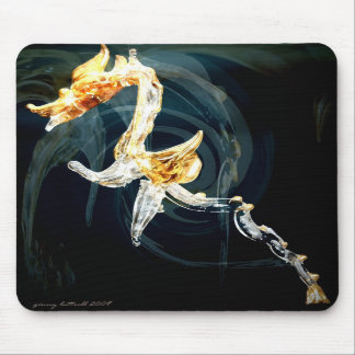 The Glass Dragon Mouse Pad