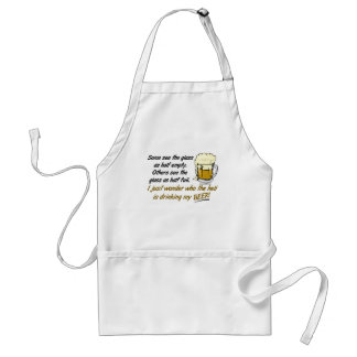 The Glass is Half Full? Apron