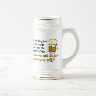 The Glass is Half Full? Stein & Mugs