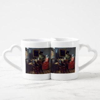 The Glass of Wine by Johannes Vermeer Coffee Mug Set
