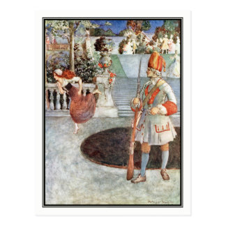 The Glass Slipper by Millicent Sowerby Postcard