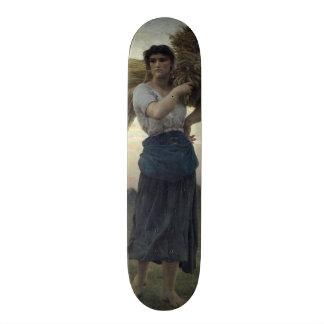 The Gleaner, 1877 Skateboard Deck