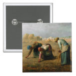 The Gleaners, 1857 Button