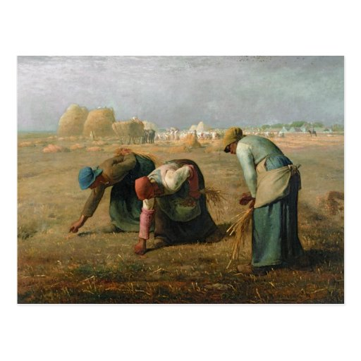 The Gleaners, 1857 Post Cards