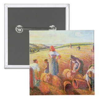 The Gleaners, 1889 Button