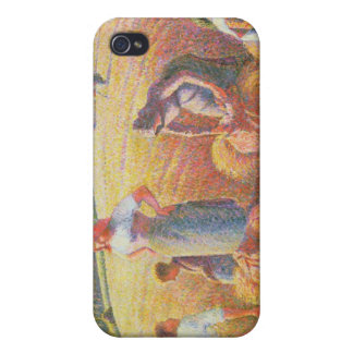 The Gleaners, 1889 iPhone 4 Cover