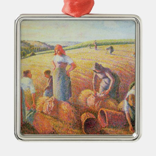The Gleaners, 1889 Metal Ornament