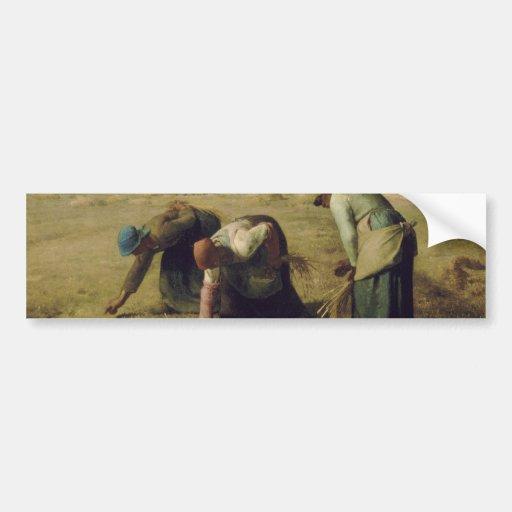 The Gleaners by Jean-François Millet 1857 Car Bumper Sticker
