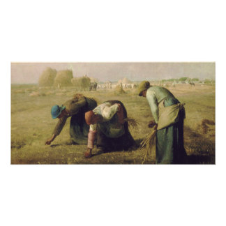 The Gleaners by Jean-François Millet 1857 Photo Card Template