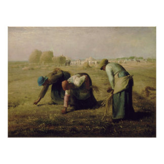 The Gleaners by Jean-François Millet 1857 Posters