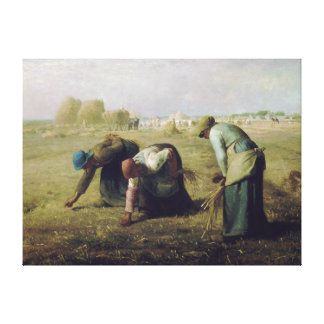 The Gleaners by Jean-François Millet Canvas Print