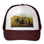 The Gleaners,  By Millet  (Best Quality) Trucker Hat
