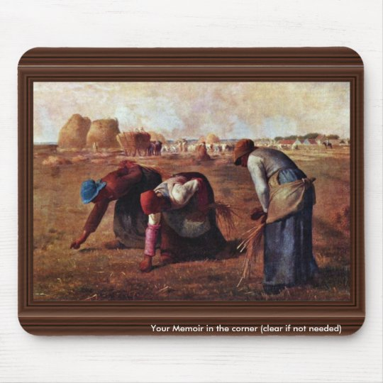 The Gleaners By Millet  (Best Quality) Mouse Pad