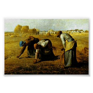 The Gleaners,  By Millet  (Best Quality) Poster