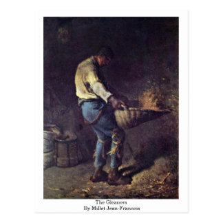 The Gleaners By Millet (Ii) Jean-Francois Postcard