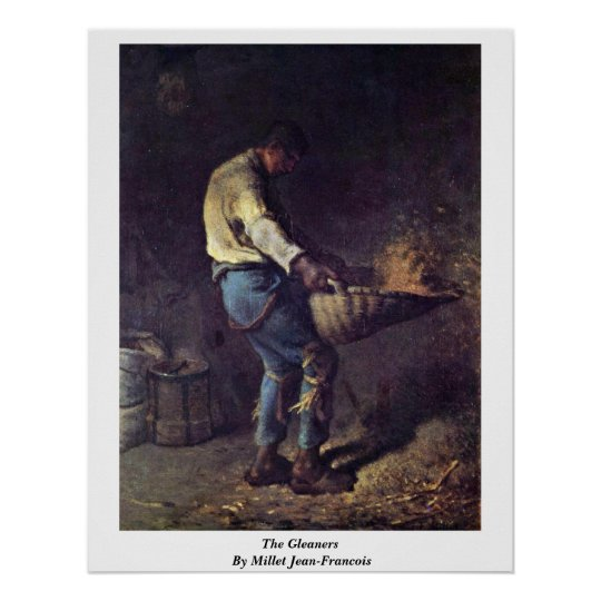 The Gleaners By Millet (Ii) Jean-Francois Poster