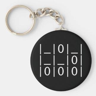 The Glider: A Universal Hacker Emblem Keychain