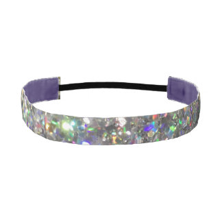 The Glitz Hologram Glitter Headband! Athletic Headband