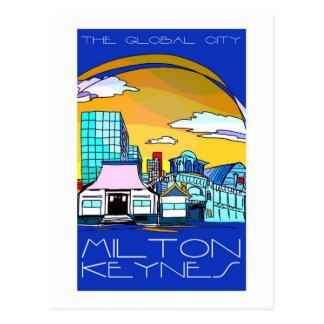 The global city postcard